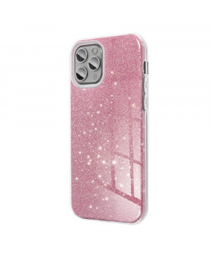 Silikónové puzdro na Apple iPhone XR Forcell SHINING ružové