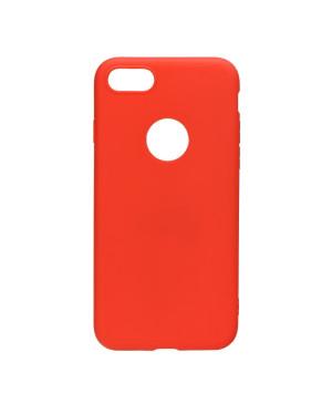 Silikónové puzdro na Apple iPhone 12/12 Pro Forcell SOFT červené