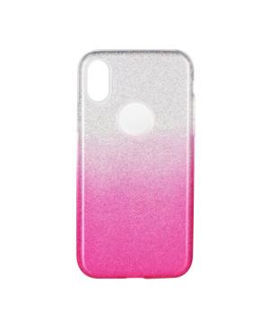Silikónové puzdro na Samsung Galaxy A21s A217 Forcell Shining ružové