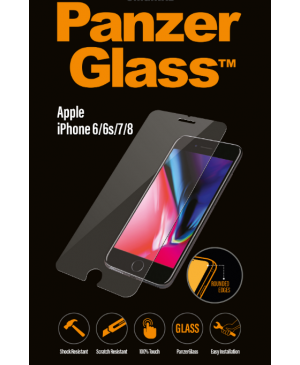 PanzerGlass pre Apple iPhone 8/7/6S/6 transparentné
