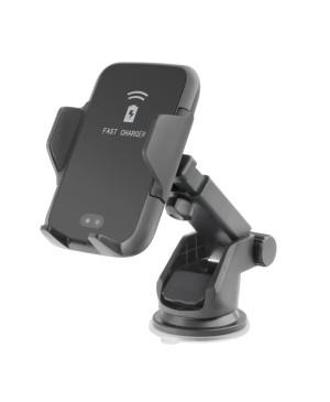 Autodržiak Forcell Smart Automatic s funkciou nabíjania čierny