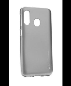 Silikónové puzdro na Samsung Galaxy A20e Mercury i-Jelly šedé