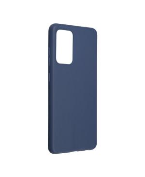 Silikónové puzdro na Samsung Galaxy A52/A52 5G/A52s 5G Forcell SOFT tmavo modré