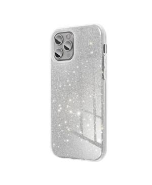 Silikónové puzdro na Samsung Galaxy A51 Forcell SHINING strieborné