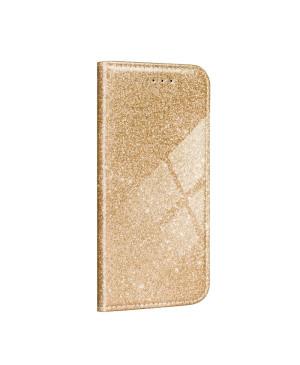 Diárové puzdro na Motorola Moto G 5G Forcell SHINING zlaté