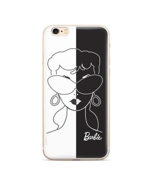 Silikónové puzdro Barbie 003 pre Apple iPhone 11 Pro bielo čierne
