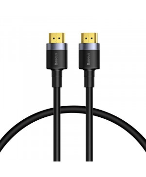 Kábel Baseus 4K HDMI to 4K HDMII 2.0 60HZ 3D, 18Gbps - 1m - čierny