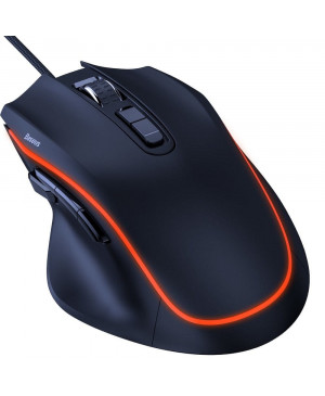PC herná myš Basues Gaming Gamo 9 GMGM01-01 čierna