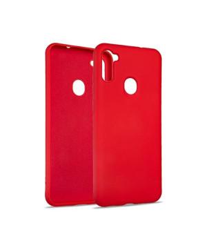 Silikónové puzdro na Samsung Galaxy A11/M11 Beline červené