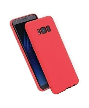 Silikónové puzdro Forcell Soft pre Samsung Galaxy A12 červené