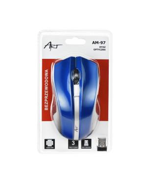 Bezdrôtová myš AM-97 modrá