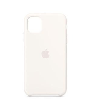 Silikónové puzdro pre Apple iPhone 11 biele
