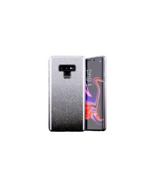 Silikónové puzdro na Samsung Galaxy A51 A515 Shine Bling transparentno-čierne