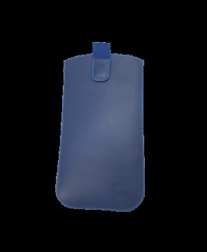 Puzdro vsuvka uni pravá koža, SK výroba veľkosť 35 modré