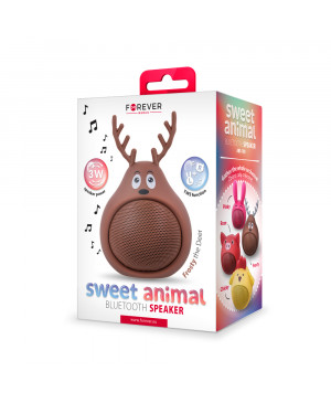Bluetooth reproduktor Forever Sweet Animal Deer Frosty ABS-100