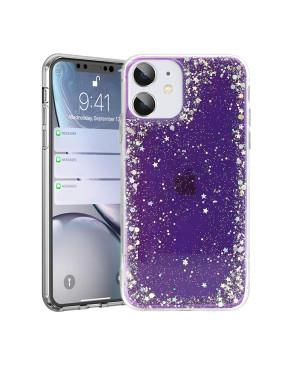 Silikónové puzdro na Samsung Galaxy A32 A326 5G Brilliant fialové