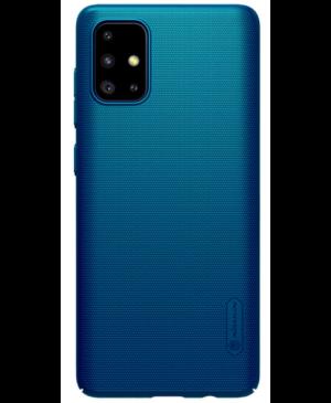 Nillkin Super Frosted Zadný Kryt pre Samsung Galaxy A71 modrý