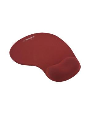 Podložka pod myš Esperanza - gelová, červená
