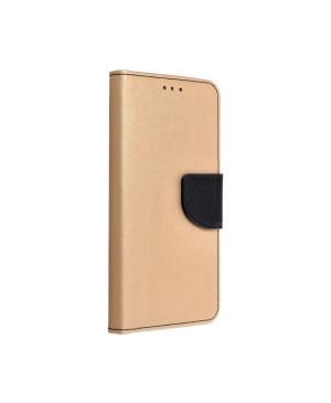 Diárové puzdro na Samsung Galaxy A20e Fancy Book zlato čierne