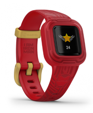 Garmin VivoFit Junior 3 Iron Man červené