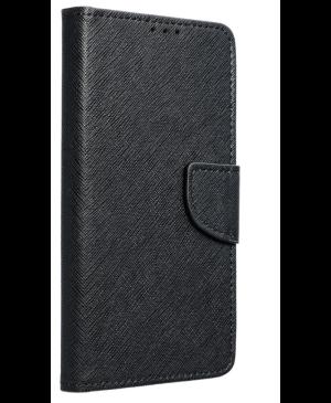 Diárové puzdro na Motorola Moto G100 Fancy čierne