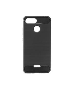 Silikónové puzdro Forcell Carbon pre Xiaomi Redmi Note 8T čierne