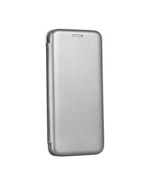 Diárové puzdro na Samsung Galaxy A12 Forcell Elegance sivé