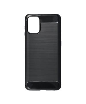 Silikónové puzdro na Motorola Moto G9 Plus Forcell Carbon čierne