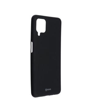 Silikónové puzdro na Samsung Galaxy A12 Roar Colorful Jelly čierne