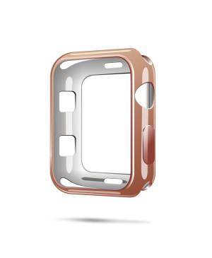 Silikónové puzdro Dux Ducis pre Apple Watch 2/3 42 mm zlaté