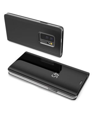 Diárové pudzro na Samsung Galaxy A40 Clear View čierne