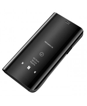 Clear View Case cover pre Xiaomi Redmi Note 7 Čierny
