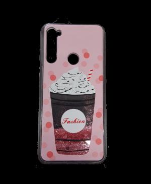 Silikónové puzdro na Samsung Galaxy A40 A405 Glitter Designs TPU Cupcake