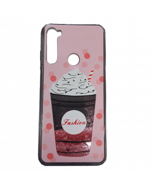 Silikónové puzdro na Xiaomi Redmi Note 9 Pro Glitter Designs TPU Cupcake