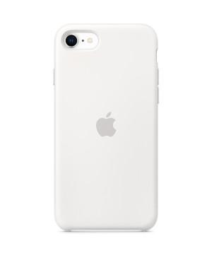 Originálne puzdro Apple MXYJ2ZM/A pre iPhone SE 2020 Silicone - White