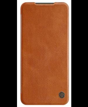 Nillkin Qin Book Pouzdro pro Xiaomi Redmi Note 9 Pro/Note 9s Brown