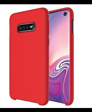 Silikónové puzdro na Samsung Galaxy A71 Beline červené