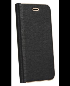Diárové puzdro na Samsung Galaxy A32 5G Forcell Luna Gold čierne
