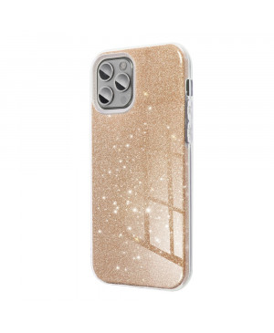 Silikónové puzdro na Samsung Galaxy A51 Forcell SHINING zlaté