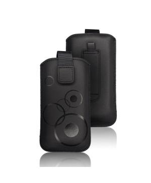 Univerzálne puzdro na Apple iPhone XR/11 Forcell Deko čierne