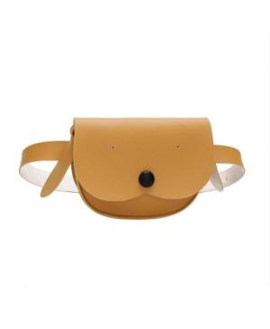 Detská taška s popruhom hnedá