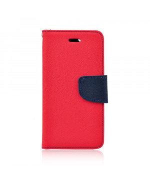Diárové puzdro Fancy Book pre Huawei Y7 2018 červeno modré