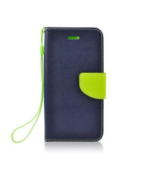 Diárové puzdro Fancy Book pre Samsung Galaxy S10e modro limetkové