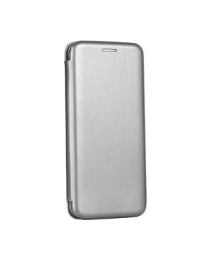 Diárové puzdro Forcell Elegance pre Apple iPhone X sivé