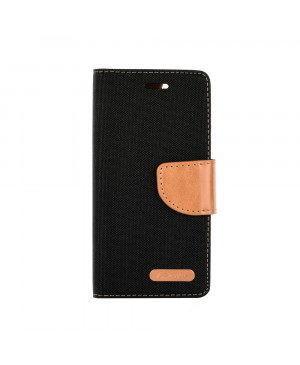 Diárové puzdro Smart Canvas pre Sony Xperia čierne