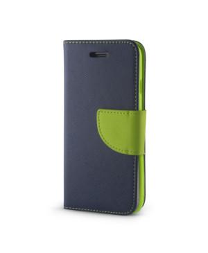 Diárové puzdro Smart Fancy pre Huawei P20 Lite modro-zelené
