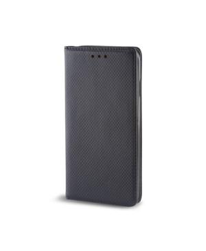 Diárové puzdro na iPhone XR Smart Magnet čierne