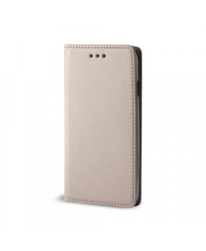 Diárový obal na Huawei Honor 7X Smart Magnet zlatý