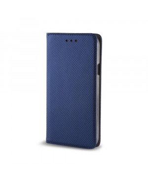 Diárové puzdro Smart Magnet pre Huawei Mate 20 Lite tmavomodré