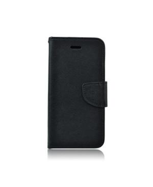 Diarové puzdro Fancy Kabura pre Huawei P20 Lite čierne